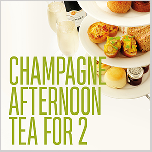 Champagne Afternoon Tea for 2