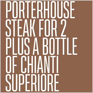 Porterhouse Steak for 2