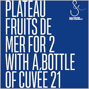 Plateau Fruits De Mer Cuvée 21