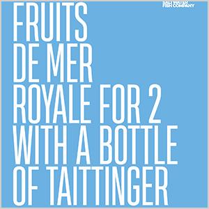Plateau Fruits De Mer Taittinger